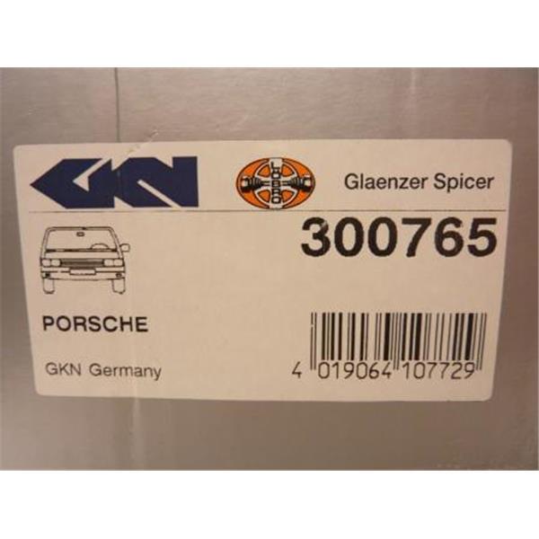 Antriebswellengelenksatz GKN 924 2,5 S + 944 2,5 + 3,0