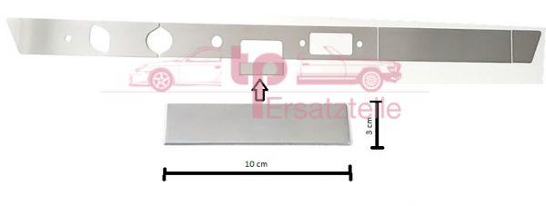 Armaturenbrettblende 5-teilig Alu 911 Bj. 65 - 69 Aschenbecherblende 100x30mm