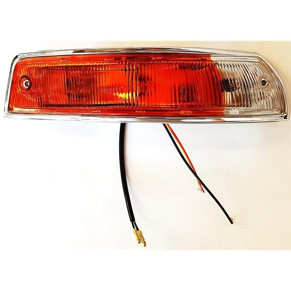 Blinkergehäuse (Plastik) vorne rechts mit Glas orange/ weiß EU Version 911 Bj. 65 - 68 (Beleuchtung)