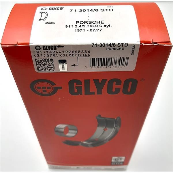 Pleuellagersatz Übermass 0,50mm 2,4 - 2,7 + 3,0 Turbo + Carrera