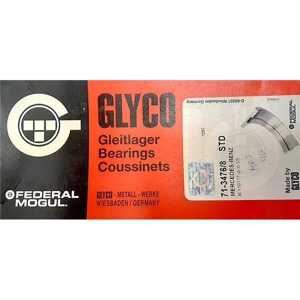Pleuellagersatz STD (Glyco) 300 SEL bis 560 SEL alle V8 siehe Motorspezifikation