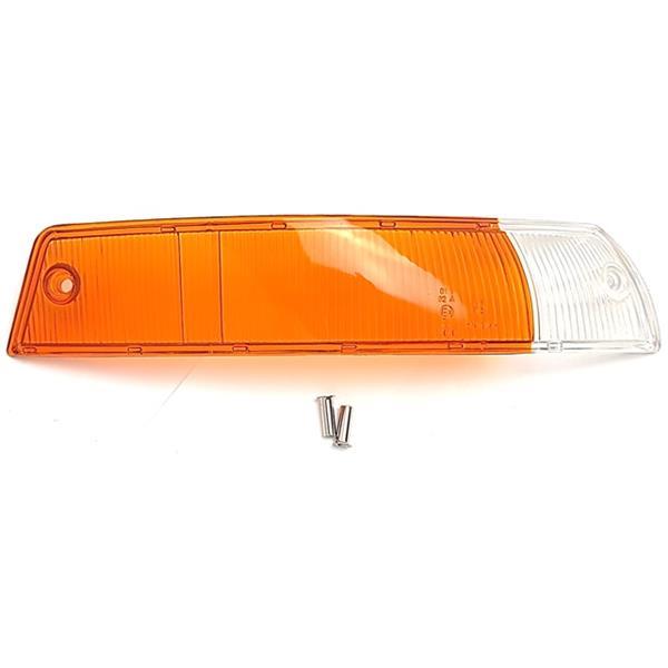 Blinkerglas vorne rechts orange/weiß EU Version 911 Bj. 65 - 68