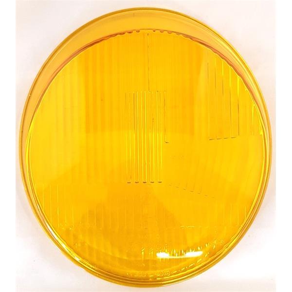 Bosch-Scheinwerferglas GELB H1 asymmetrisch 911 Bj. 65 - 73 (Beleuchtung)