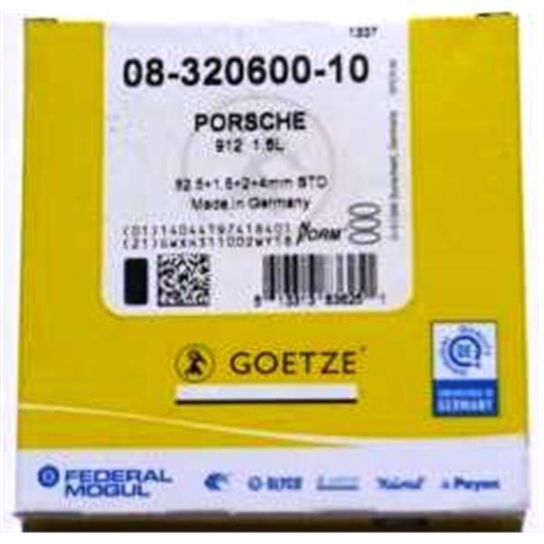 Kolbenringsatz Super 90/ C/ SC/ 912 GOETZE / MAHLE (siehe auch 911001)