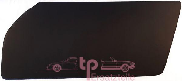 Türtafel schwarz rechts 911 RS + 964 + 993