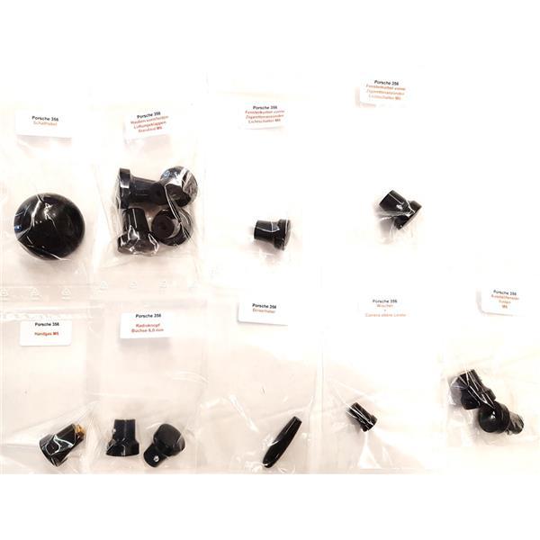 Knopfsatz innen 14-teilig in schwarz 356 A - C