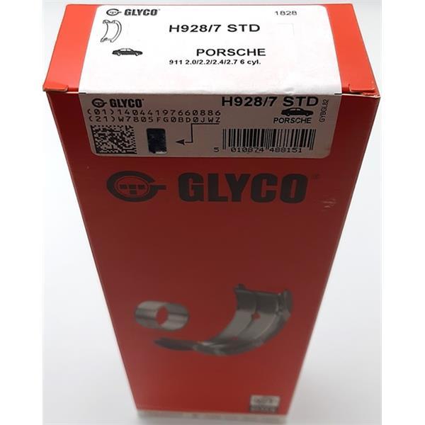 Hauptlagersatz Standard 911 2,7 Bj. 75 - 77 GLYCO