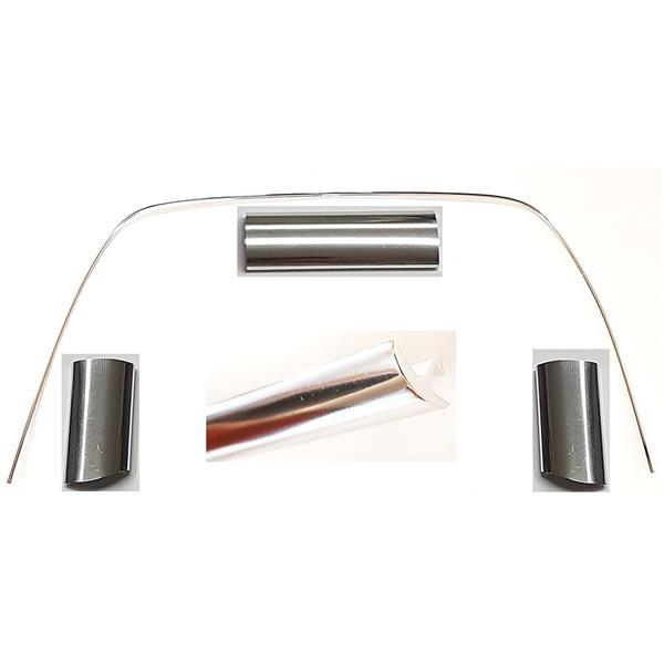 Heckscheibenzierleistensatz Silber 5-teilig 911 TARGA Bj. 69-77