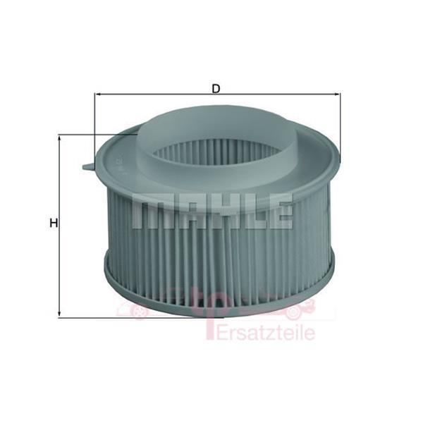 Innenluftfiltersatz (Partikelfilter) alle 993 - LA15/S Mahle