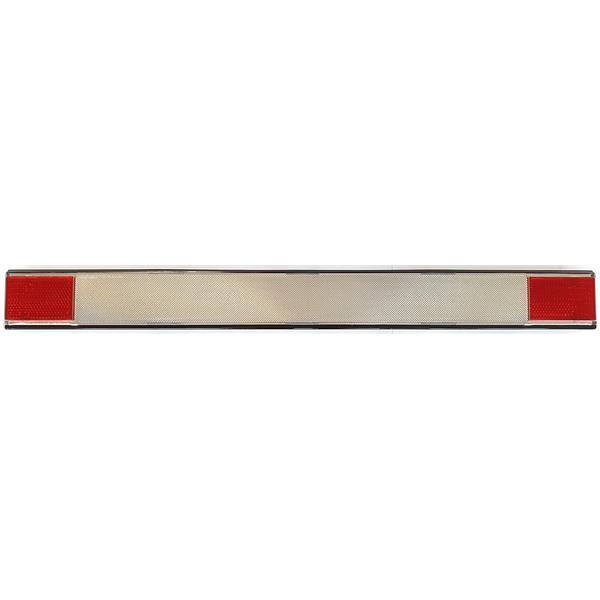 Heckblende weiß mit Reflektor 911 Bj. 73 - 88