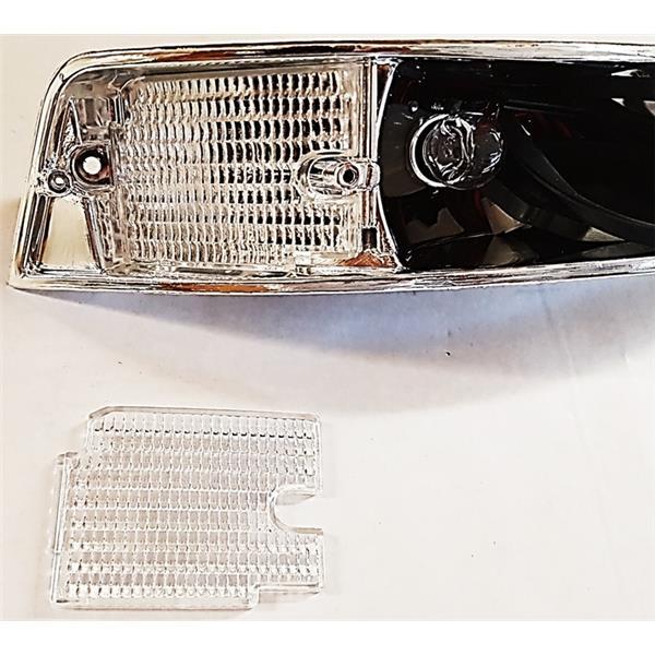 Reflektorglas Blinkergehäuse vorne rechts 911 Bj. 69 - 73 (Beleuchtung)