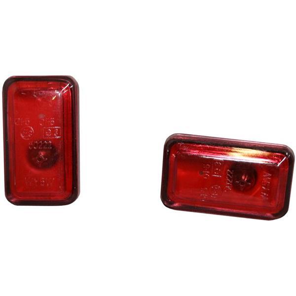 Blinkersatz rot für Kotflügel 911 Bj. 74 - 98 (Beleuchtung)