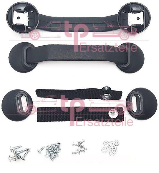 Türlaschensatz schwarz 911 RS, 964 , 993
