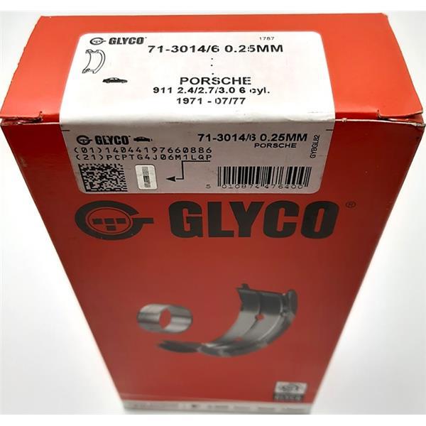 Pleuellagersatz Übermass 0,25mm 2,4 - 2,7 + 3,0 Turbo + Carrera
