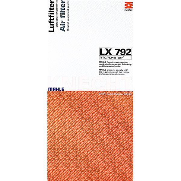 Luftfilter Cayenne - LX 792 Mahle