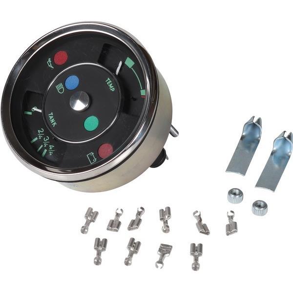 Vorratsanzeiger für Kraftstoff und Temperatur 356 Style