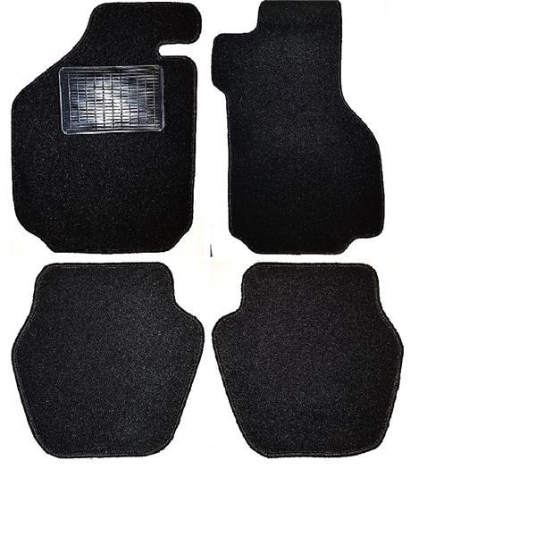 Fußmattensatz mit Absatzschoner 4-teilig 911 Targa/Cabrio schwarz Bj.73-89