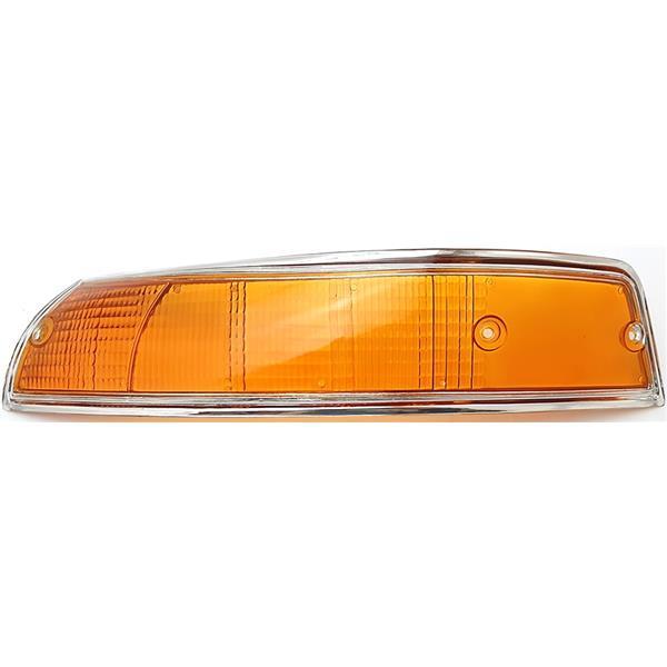 Blinkerglas vorne links US Version Rand silber 911 Bj. 69 - 73