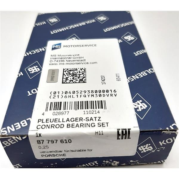 Pleuellagersatz Übermass 0,25mm 912/356 A/B/C GLYCO
