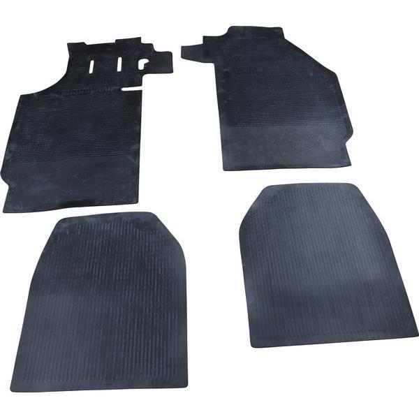 Fußmattensatz Gummi 4-teilig schwarz 911 Bj. 63 - 73 + 912 Bj. 65 - 70