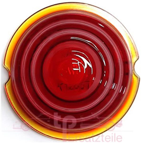 Blinkerglas SWF K 12637 rot hinten 356 - 356 A