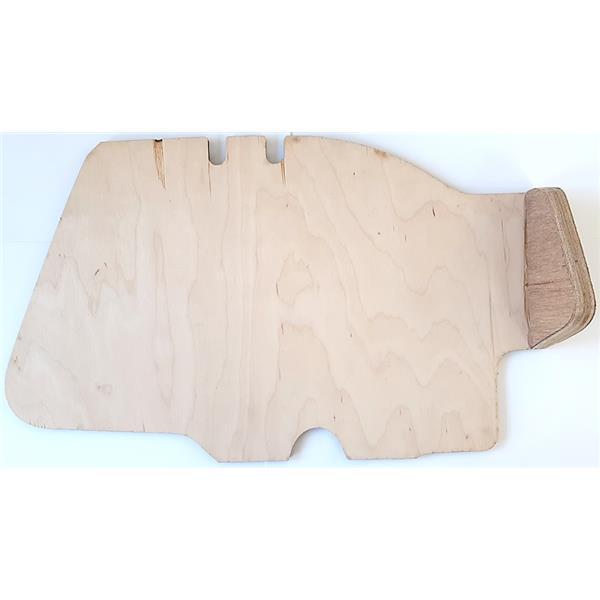 Boden-/Fußbrett Holz für Coupe rechts Bj. 65 - 73