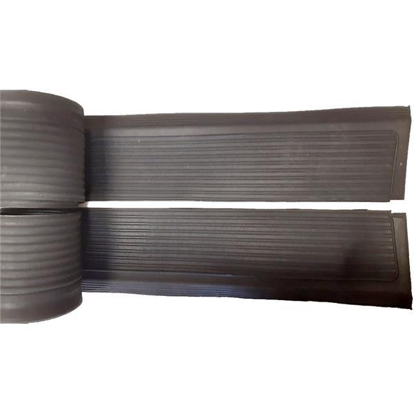 Einstiegschwellerabdeckung Satz schwarz links + rechts Mercedes 107