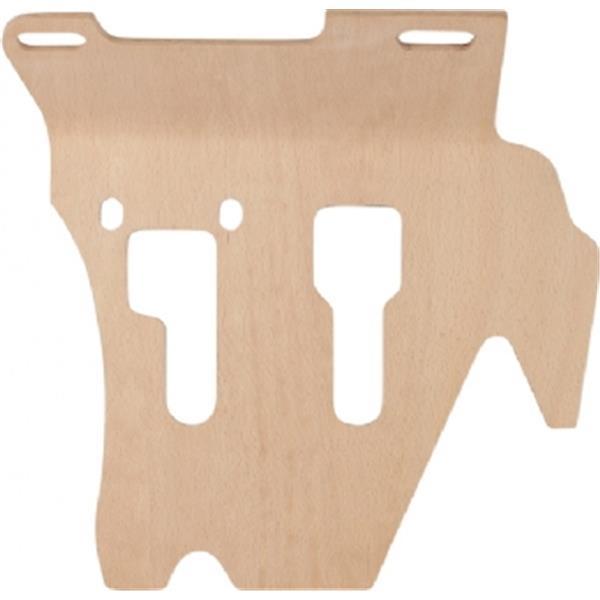 Boden-/Fußbrett Holz für Targa links 911 Bj. 65 - 73