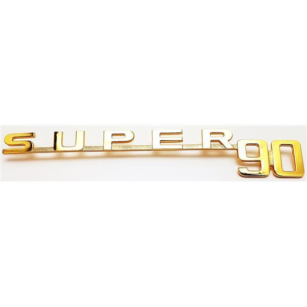 """Schriftzug """"super90"""" vergoldet 356 B - T5"""