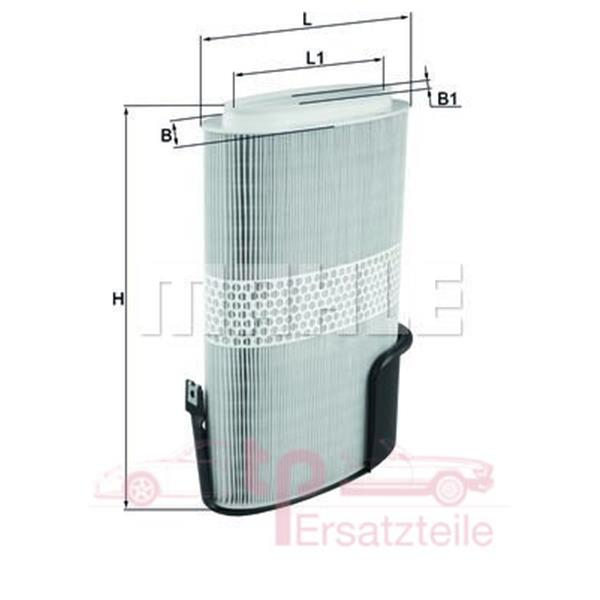 Luftfilter Boxster 987 - LX 1009/6 Mahle