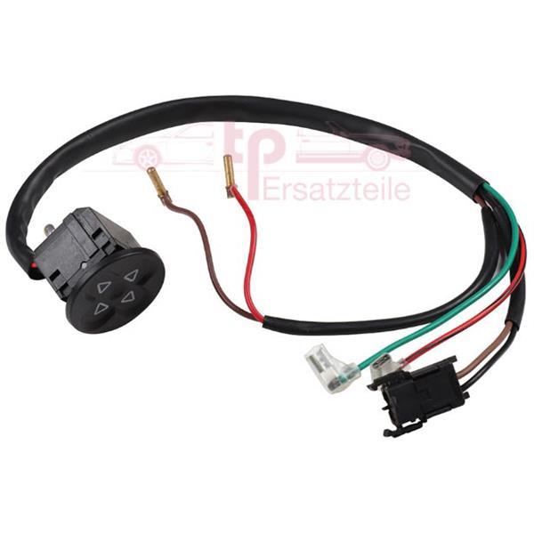 Schalter hinten für elektrische Sitzverstellung 911 Bj. 8/83 - 89, 964, 993
