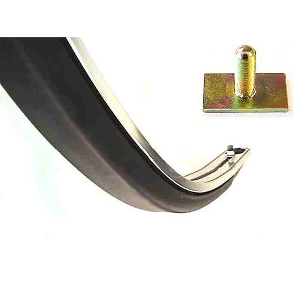 Schraube für Zierleiste Stoßstange vorne breit 911 S Bj. 65 - 73