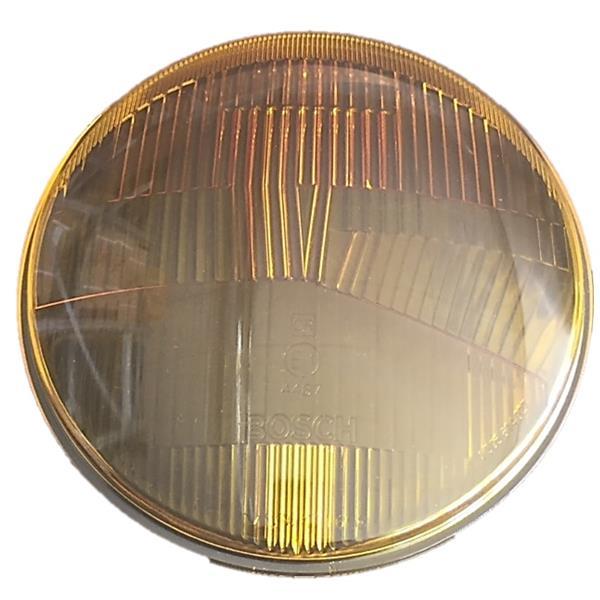Bosch-Scheinwerferglas GELB E1 4487 asymmetrisch 911 Bj, 65 - 69 (Beleuchtung)