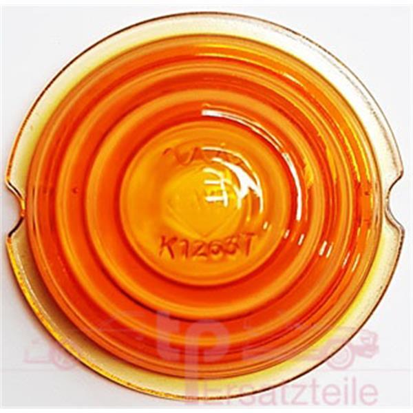 Blinkerglas SWF K 12637 vorne orange 190 SL, Typ 121, bis Bj 1958, bis Fg-Nr. 8501804