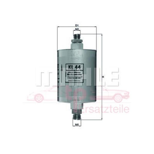 Benzinfilter 3,3 + 3,6 Turbo Bj. 8/ 90 - 9/ 93 KL 44 Mahle