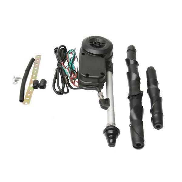 Antenne autom. mit schwarzem Fuß 911/ 964/ 993/ 944/ 928